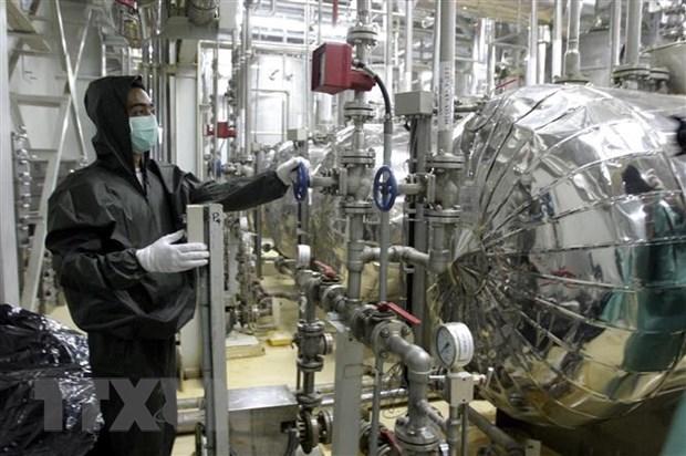 Iran du kien ra mat may ly tam lam giau urani the he moi hinh anh 1