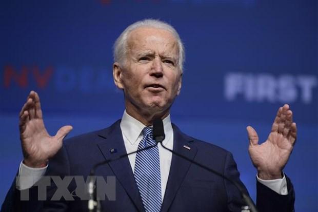 Ong Joe Biden tiep tuc dan dau ve ty le ung ho trong dang Dan chu hinh anh 1