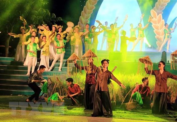 Khai mac Festival Lua gao Viet Nam lan 4 tai Vinh Long hinh anh 1