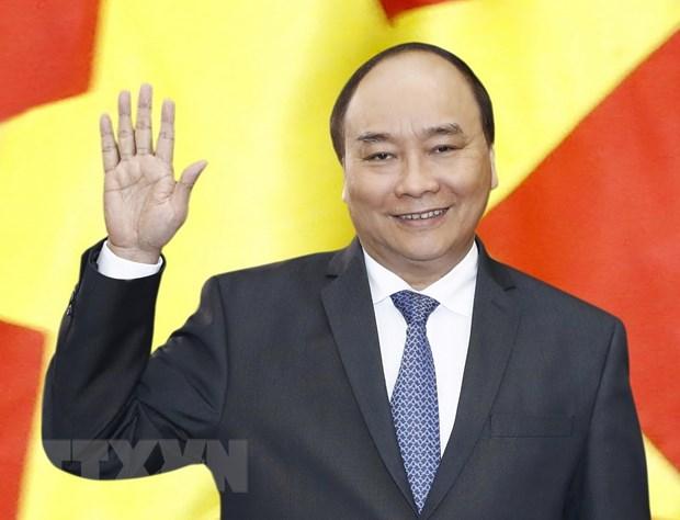 Thu tuong Nguyen Xuan Phuc len duong tham chinh thuc Myanmar hinh anh 1