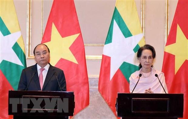 Viet Nam-Myanmar tiep tuc day manh quan he phat trien len tam cao moi hinh anh 2
