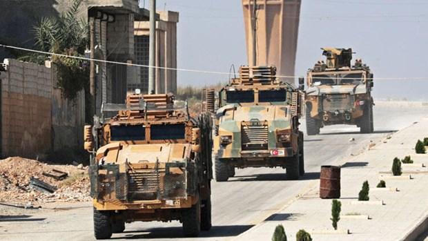 Syria: Danh bom ben duong, 4 binh sy Tho Nhi Ky thiet mang hinh anh 1