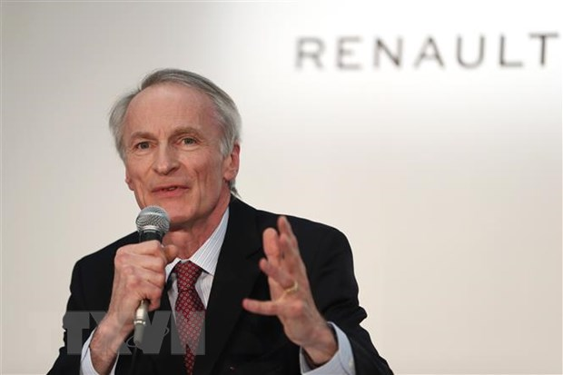 Chu tich Renault-Nissan bac thong tin lien minh co nguy co do vo hinh anh 1