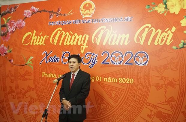 Cong dong nguoi Viet tai Sec va Algeria don mung Xuan Canh Ty hinh anh 1