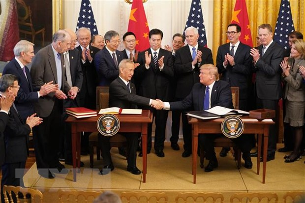 Tong thong Trump: Thoa thuan My-Trung 'tot hon nhieu' so voi mong doi hinh anh 1