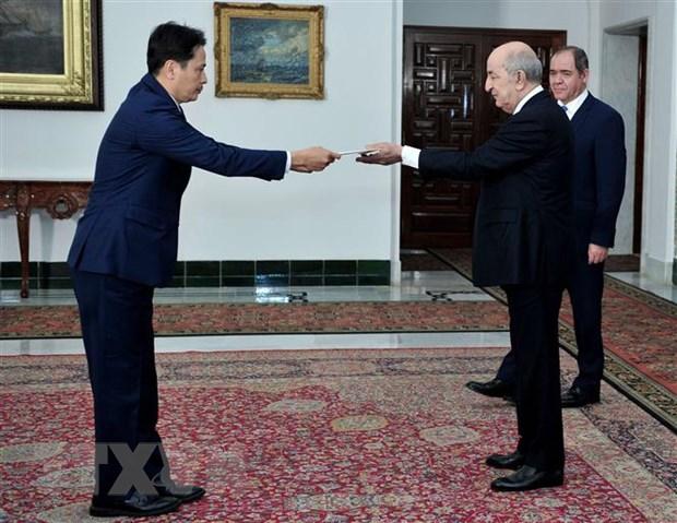 Tong thong Algeria danh gia cao nhung thanh tuu cua Viet Nam hinh anh 1