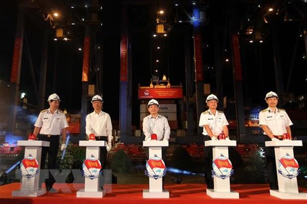Tan Cang Sai Gon phat lenh lam hang dau Xuan Canh Ty 2020 hinh anh 1