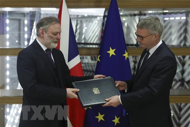 Moi quan he Anh-EU sau Brexit: Hoi ket dang do hinh anh 1