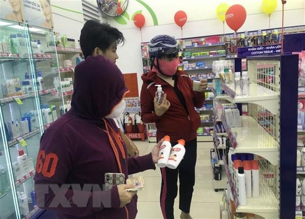 TP.HCM xu ly nghiem doi tuong doi gia khau trang, nuoc sat trung hinh anh 2