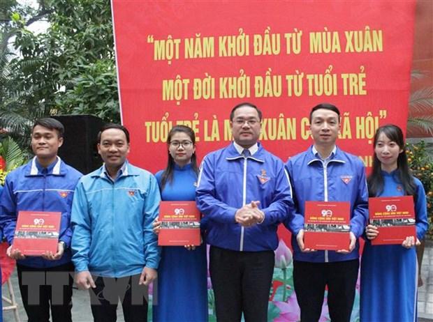 Tuoi tre Thu do sat son niem tin voi Dang Cong san Viet Nam hinh anh 1