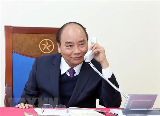 Thu tuong Nguyen Xuan Phuc dien dam voi Tong thong Indonesia hinh anh 1