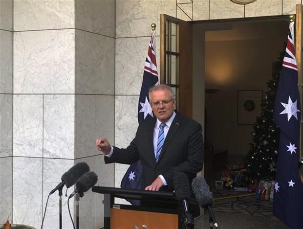Thu tuong Australia Morrison bo nhiem cac bo truong moi hinh anh 1