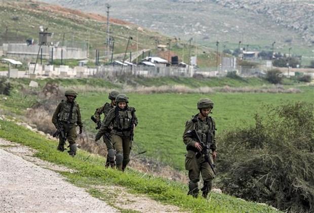 Israel tang cuong an ninh tai Jerusalem va khu Bo Tay hinh anh 1