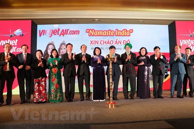 Vietjet cong bo mo loat 5 duong bay thang Viet Nam-An Do hinh anh 2