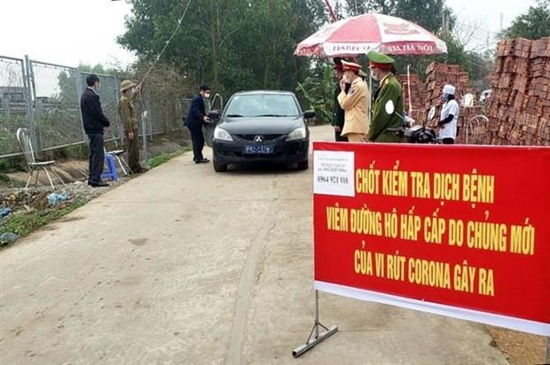Vinh Phuc co 74 truong hop nghi nhiem COVID-19 dang duoc cach ly hinh anh 2