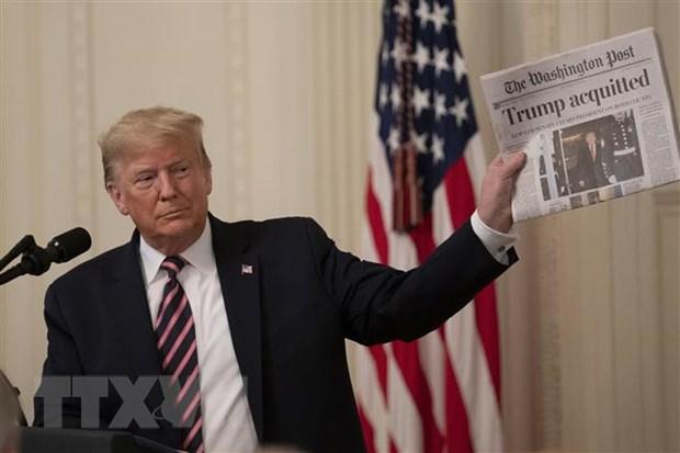 Tong thong My Donald Trump va co hoi tai dac cu rong mo hinh anh 1