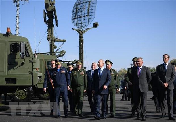 Tong thong Putin tuyen bo Nga se tiep tuc hien dai hoa quan doi hinh anh 1
