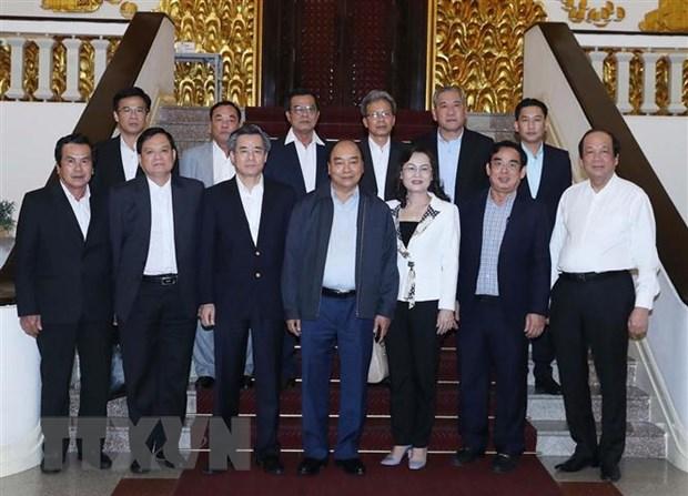 Thu tuong Nguyen Xuan Phuc lam viec voi tinh Bac Lieu hinh anh 2