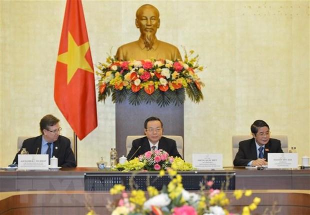 Tang cuong hop tac kinh te giua Viet Nam va Hoa Ky hinh anh 1