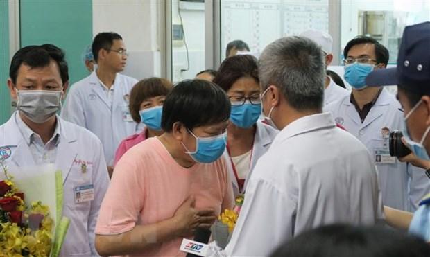 Tong Lanh su Trung Quoc tai TP.HCM cam on Benh vien Cho Ray hinh anh 1