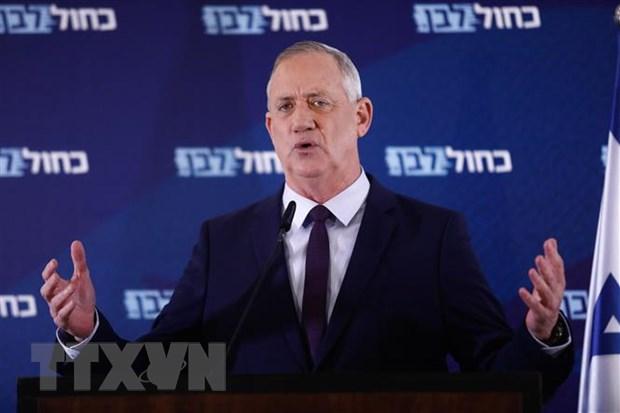 Israel: Ong Benny Gantz duoc giao nhiem vu thanh lap chinh phu moi hinh anh 1