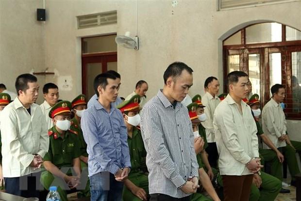 Phat tu nhom doi tuong lat do chinh quyen nhan dan tai Muong Nhe hinh anh 1