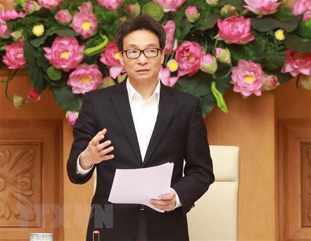 Pho Thu tuong Vu Duc Dam: Suc manh toan dan giup kiem soat tot dich hinh anh 1