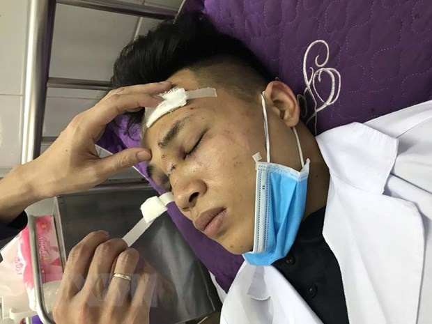 Hai Duong: Trieu tap 7 doi tuong hanh hung bac sy hinh anh 1