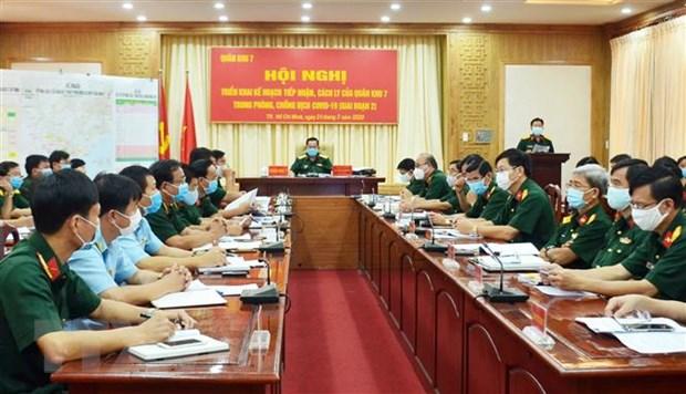 Thanh lap Ban Chi huy lam thoi Phong thu dan su Quan khu 7 hinh anh 1