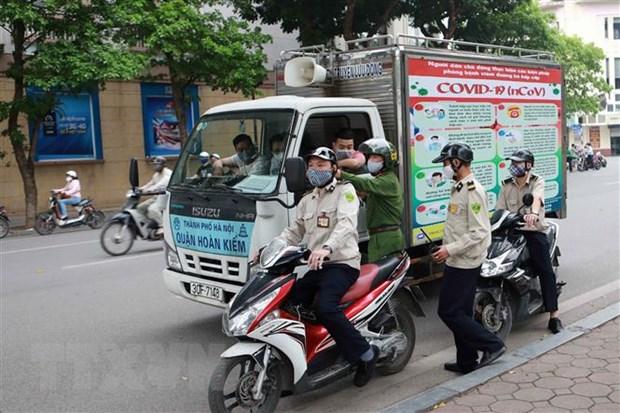 Thu tuong gui Thu khen luc luong Cong an trong phong chong COVID-19 hinh anh 1