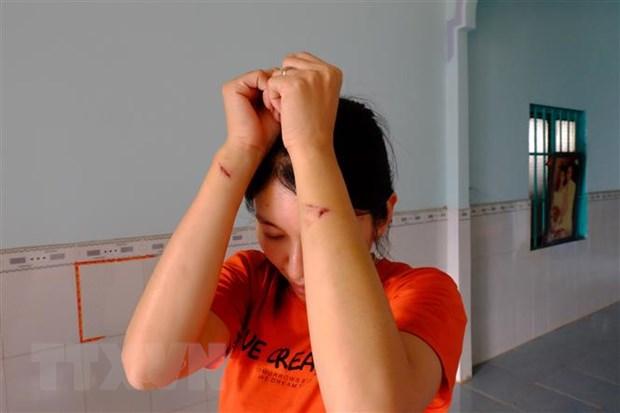 Binh Phuoc: Xem xet xu ly nghiem nhung doi tuong hanh hung thai phu hinh anh 1