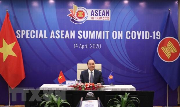 ASEAN 2020: Thuc day hop tac ASEAN trong phong, chong dich COVID-19 hinh anh 1