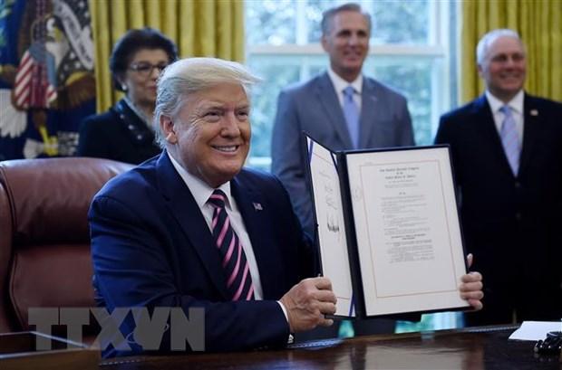 The ''luong nan'' cua Tong thong My Donald Trump hinh anh 1