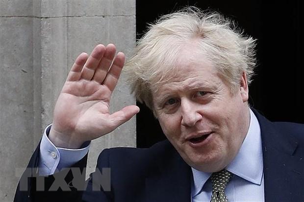 Thu tuong Anh Boris Johnson tro lai lam viec tu ngay 27/4 hinh anh 1