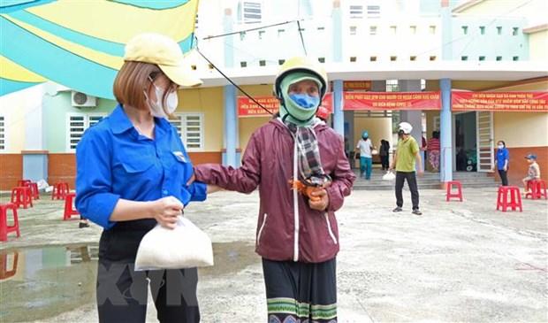 Hoi Lien hiep Phu nu to chuc chuong trinh tiep suc day lui COVID-19 hinh anh 1
