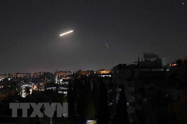 Syria chan dung cuoc tan cong tu khong phan Liban hinh anh 1