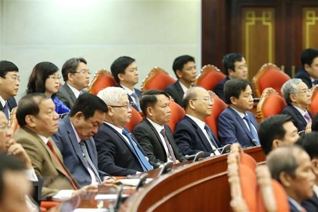 Be mac Hoi nghi lan thu 12 Ban Chap hanh Trung uong Dang khoa XII hinh anh 2