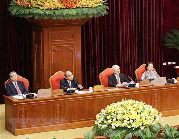 Be mac Hoi nghi lan thu 12 Ban Chap hanh Trung uong Dang khoa XII hinh anh 1