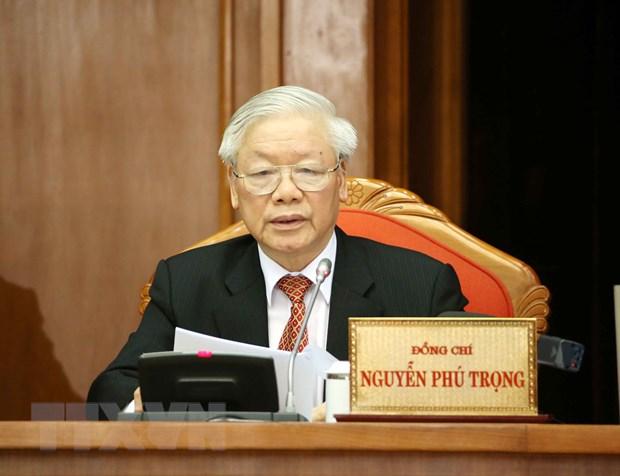 Thong bao Hoi nghi lan thu 12 Ban Chap hanh Trung uong Dang khoa XII hinh anh 1