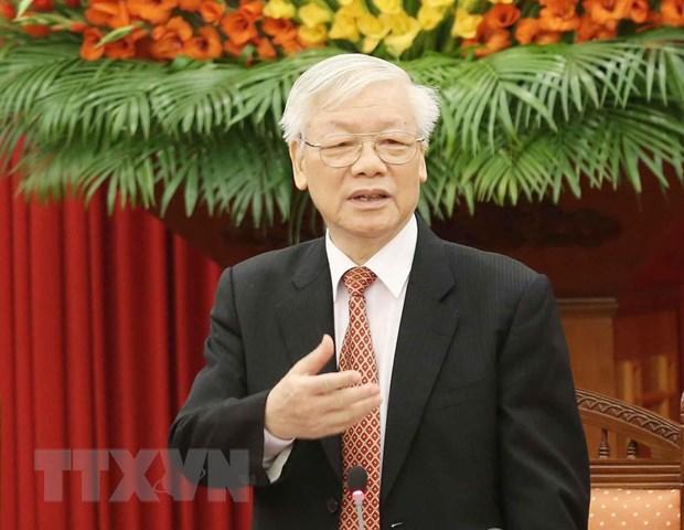 Tien toi Dai hoi XIII cua Dang: Cong tam, toan dien chon dung can bo hinh anh 1