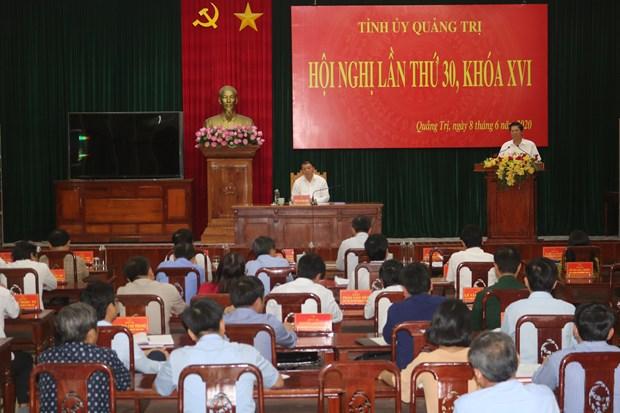 Ong Vo Van Hung duoc bau lam Pho Bi thu Tinh uy Quang Tri hinh anh 1