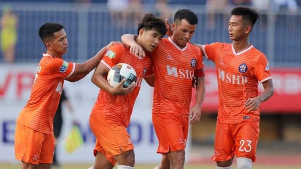 Vong 4 V-League 2020: SHB Da Nang thang dam Quang Nam hinh anh 1