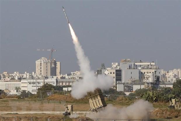 Israel khong kich mot so vi tri cua Hamas tai Dai Gaza hinh anh 1