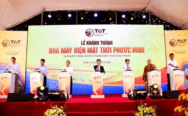 T&T Group khanh thanh Nha may dien Mat Troi Phuoc Ninh hinh anh 1