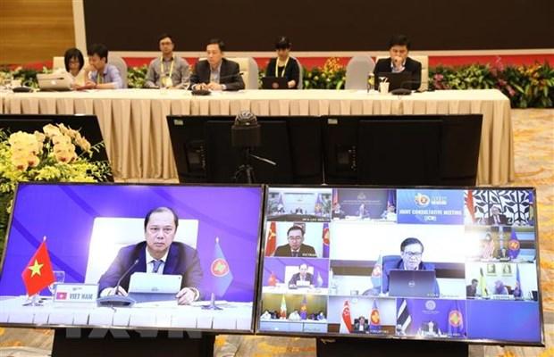 Hoi nghi Cap cao ASEAN lan thu 36 tap trung thuc hien nhiem vu kep hinh anh 2