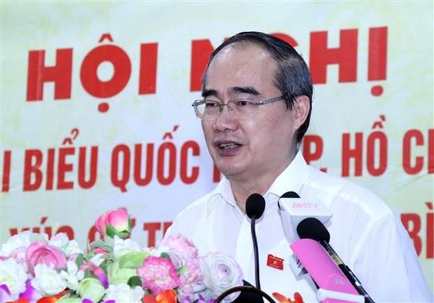 Bi thu Thanh uy TP.HCM: Phong, chong tham nhung hien rat quyet liet hinh anh 1