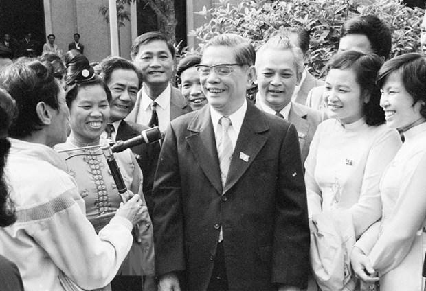 Tong Bi thu Nguyen Van Linh: Nguoi khoi xuong cong cuoc doi moi hinh anh 1