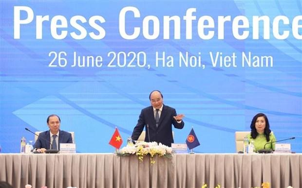 Thu tuong Nguyen Xuan Phuc thong bao ket qua Hoi nghi Cap cao ASEAN 36 hinh anh 1