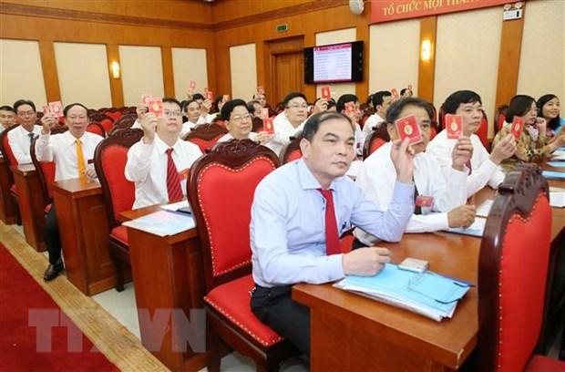Dai hoi Dang bo Co quan Uy ban Kiem tra Trung uong nhiem ky 2020-2025 hinh anh 1