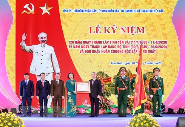 Ky niem trong the 120 nam Ngay thanh lap tinh Yen Bai hinh anh 1